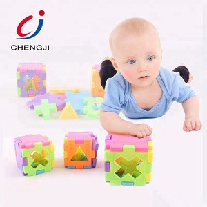 2018 Wholesale colorful learning educational building baby blocks