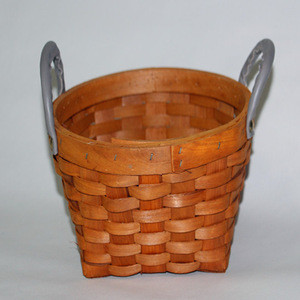 2019 Unique Home Decoration Craft Wicker Basket With Handles
