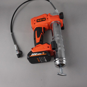 20V cordless 450ml high quality electric grease gun lithium battery grease gun