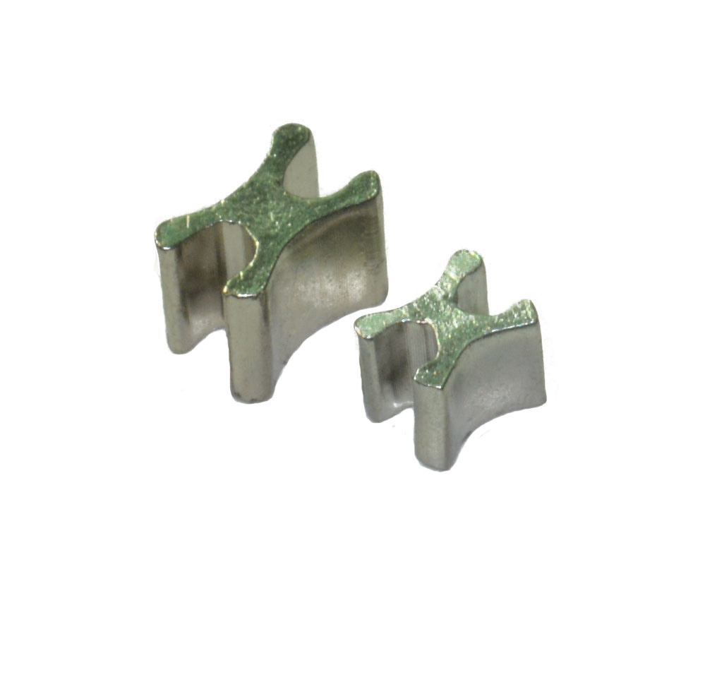 3# & 5# SUS Material High Qualight Zipper Head and OEM Puller with Logo