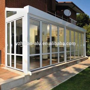 Aluminum winter garden sunroom , diy aluminum conservatory,wintergarten