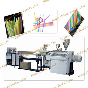Automatic Multiple Drinking Straw Making Machine