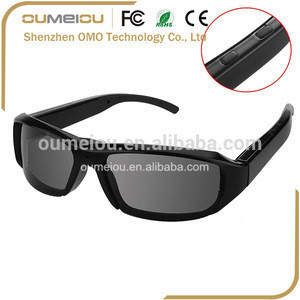 Best price custom video glasses with wireless camera shenzhen for outdoor sports recording