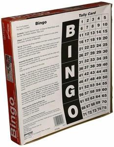 Bingo Board  Game in Red Box