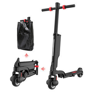Black Friday Hot Selling Urban Mini Backpack Folding Electric Scooter with Detachable Battery and BT Speaker