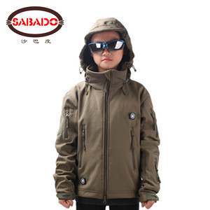Camouflage Outdoor children jacket Kids Military Tactical Training Uniform
