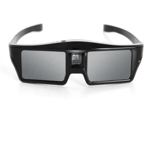 Cheap Square frame active shuttle 3d video glasses for home theater game DVD