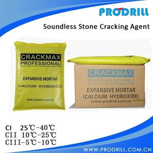 CRACKMAX Most Powerful Non-Explosive Demolition Agents for Concrete,Calcium Hydroxide