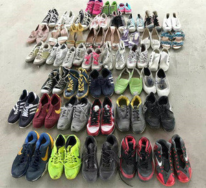 Cream Grade Used shoes and second hand shoes