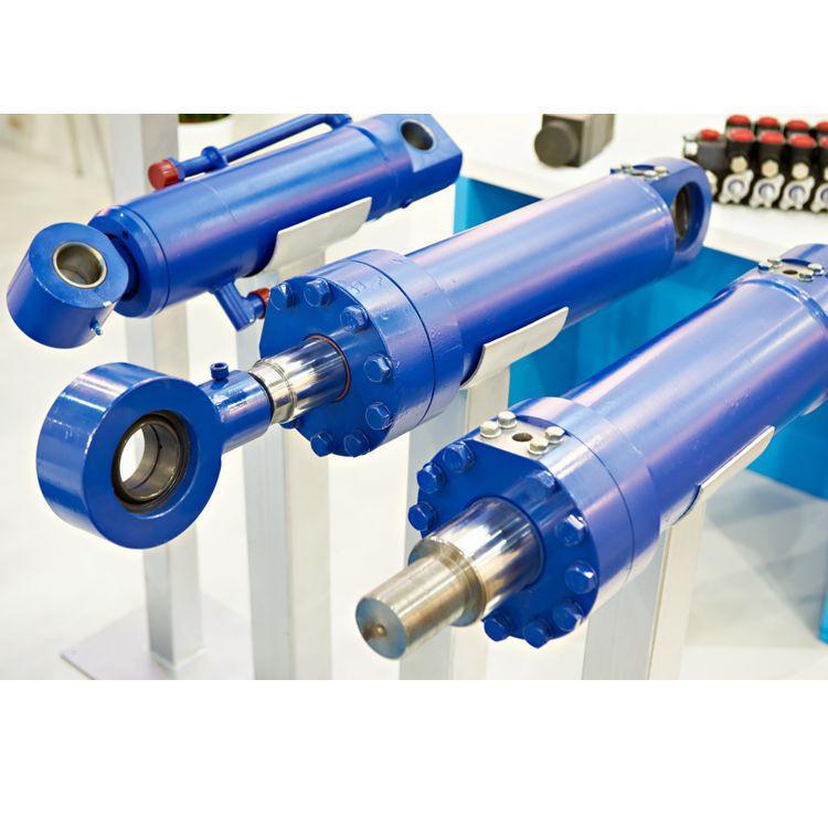 Custom non-standard hydraulic components tow truck hydraulic cylinder rod-less pneumatic cylinder