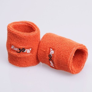 Embroidery custom sport terry cloth sweatband