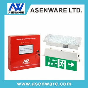 Evacuation System Emergency Light.Exit Sign Fault Monitoring System