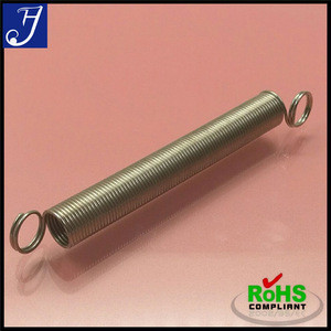 Extension Spring with Loops and Hooks, Used in Machines and Electric Equipments