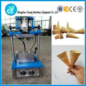 Factory supply machine for ice cream cone