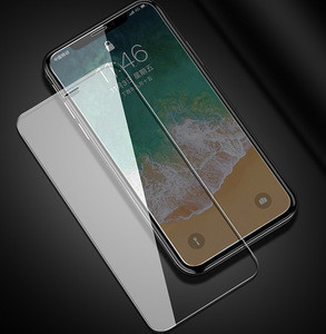 High Quality High Definition 9H 2.5D Tempered Glass Screen Protector For iPhone 7/7Plus/8/8 Plus/ X/XS/XR/XS Max