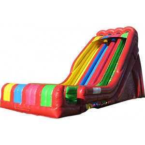 High Quality inflatable huge slide with 4 way slide switch