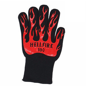 Home use heat resistant gloves for food barbecue tool set bbq grill gloves