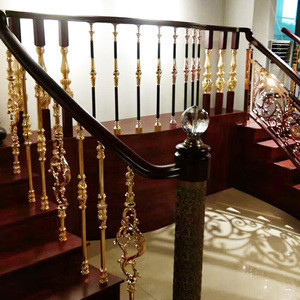 Indoor railings balcony railings cheap balustrades stair aluminum wood balcony balustrade