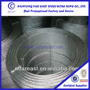 Lashing steel wire rope6*15+7FC
