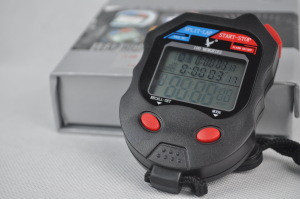 Metal stopwatch 100 track and field sports stopwatch 100 referee running table kitchen cooking electronic timer