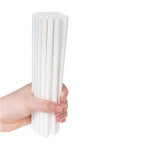 [MY Straw] GOOD Quality Made in Korea White Paper Drinking Straws Supplier