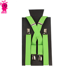 New Boys Children Kids Elastic Adjustable Clip-On Braces Bowtie Bow Tie Ties Matching Colors Party Suspender