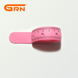 Novelty silicone fold ruler/ collapsible ruler/silicone wrist band slap ruler