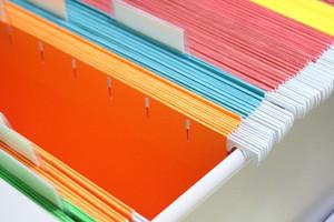 Office stationery hanging file folder