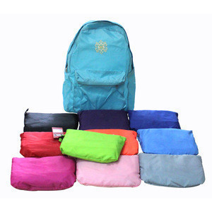 Promotional Colorful Foldable High Quality Backpack
