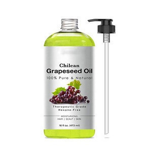 Pure Grapeseed Oil Natural Massage and Carrier Oil