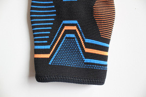 QH-9616 High quality Ankle compression support sport nylon knitted ankle support brace athletic sleeves