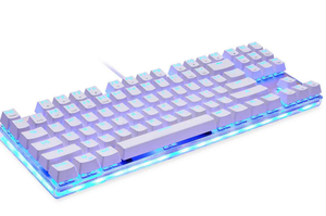 Rainbow Backlight Mechanical Switch Computer Keyboard