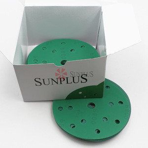 Sunplus Extremely uniform and shallow scratch film sanding disk with wide  range grits