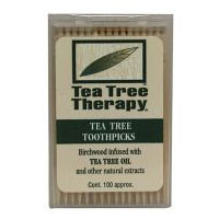 Tea Tree Therapy Toothpicks, 100 ct by Tea Tree Therapy