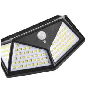 The factory sells all-round 100 lights solar garden lights