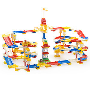 Toy Roller Coaster Car Educational Toys Race Car Colorful With 245 Pieces Track Create A Road For Wholesale