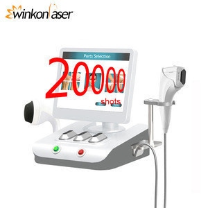 Winkonlaser Face Lift Hifu 2019 New 8 Optional Cartridges 20000 Shots 3D Hifu Body Slimming Breast Pulling Anti Wrinkle Machine
