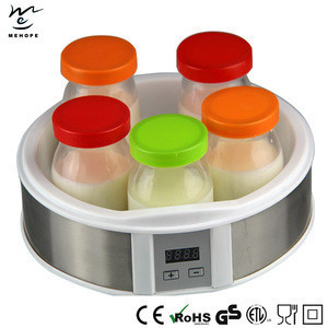 Yogurt Makers with stainless steel Covered edge