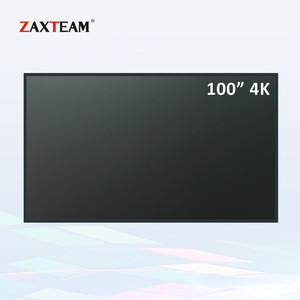 ZAXTEAM 100 inch 4K UHD Large Size LCD Monitor Used for Video Surveillance Commercial Display