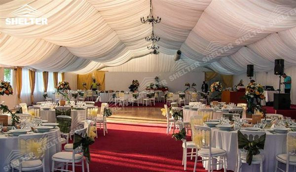 Well Decorated Clear Wedding Tents For Sale