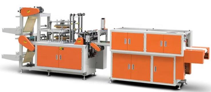 Automatic HDPE LDPE Plastic Glove Making Machine