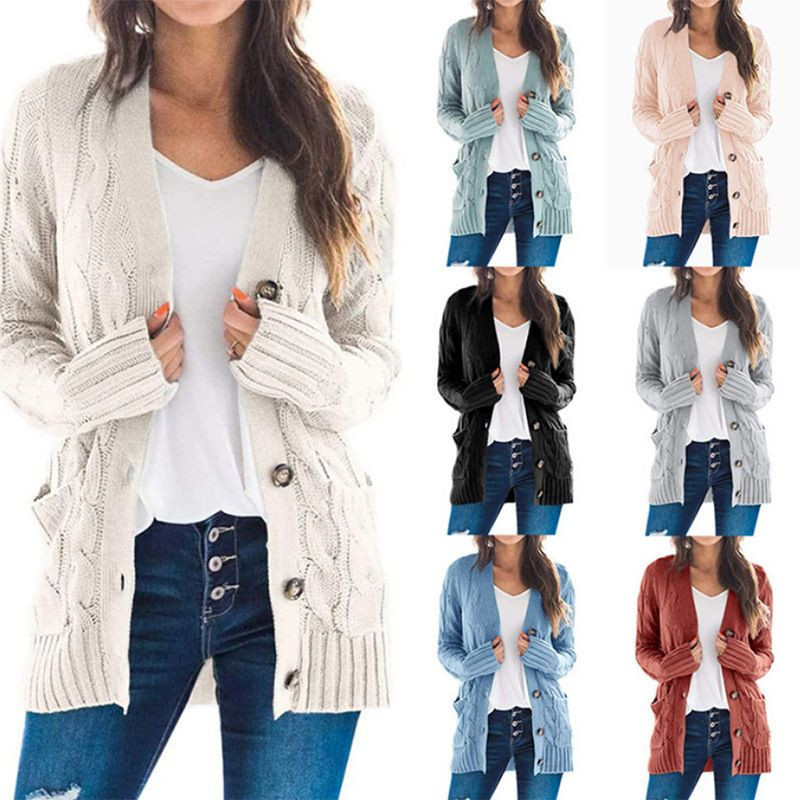Import New design ins fashionable Cardigan sweater for women from China