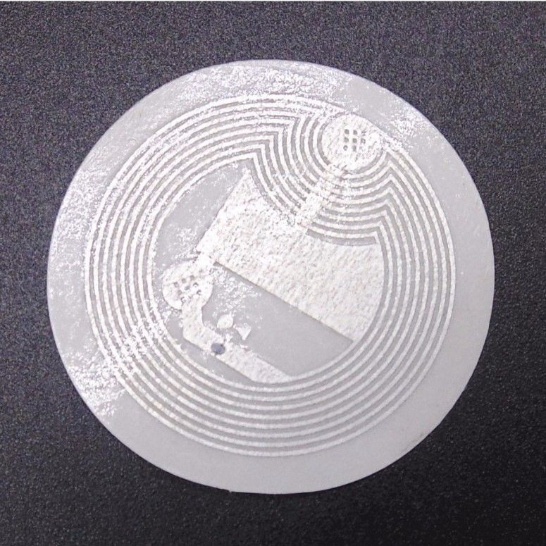 NFC tag stickers 25mm 13.56 Mhz 10.000 pc