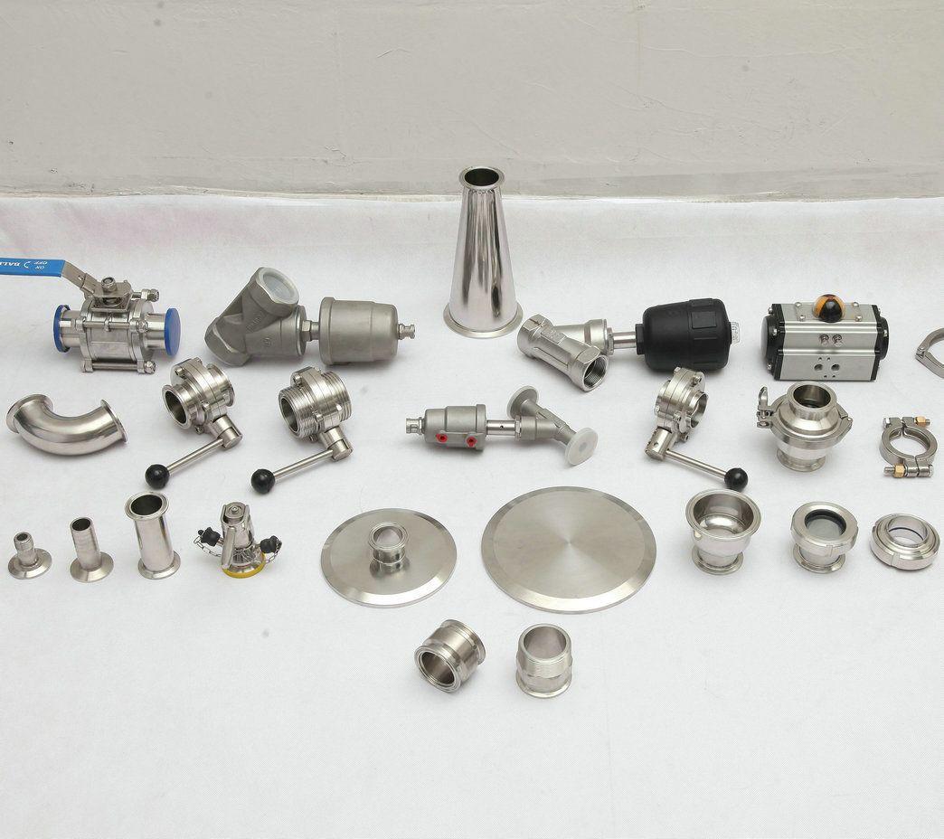 Sanitary  Food  grade   stainless  steel   triclamp    valve