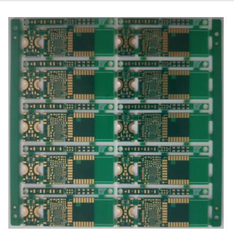 8 Layers PCB Board HDI 3+2+3 ELIC, 3.5/3.5mil VIP