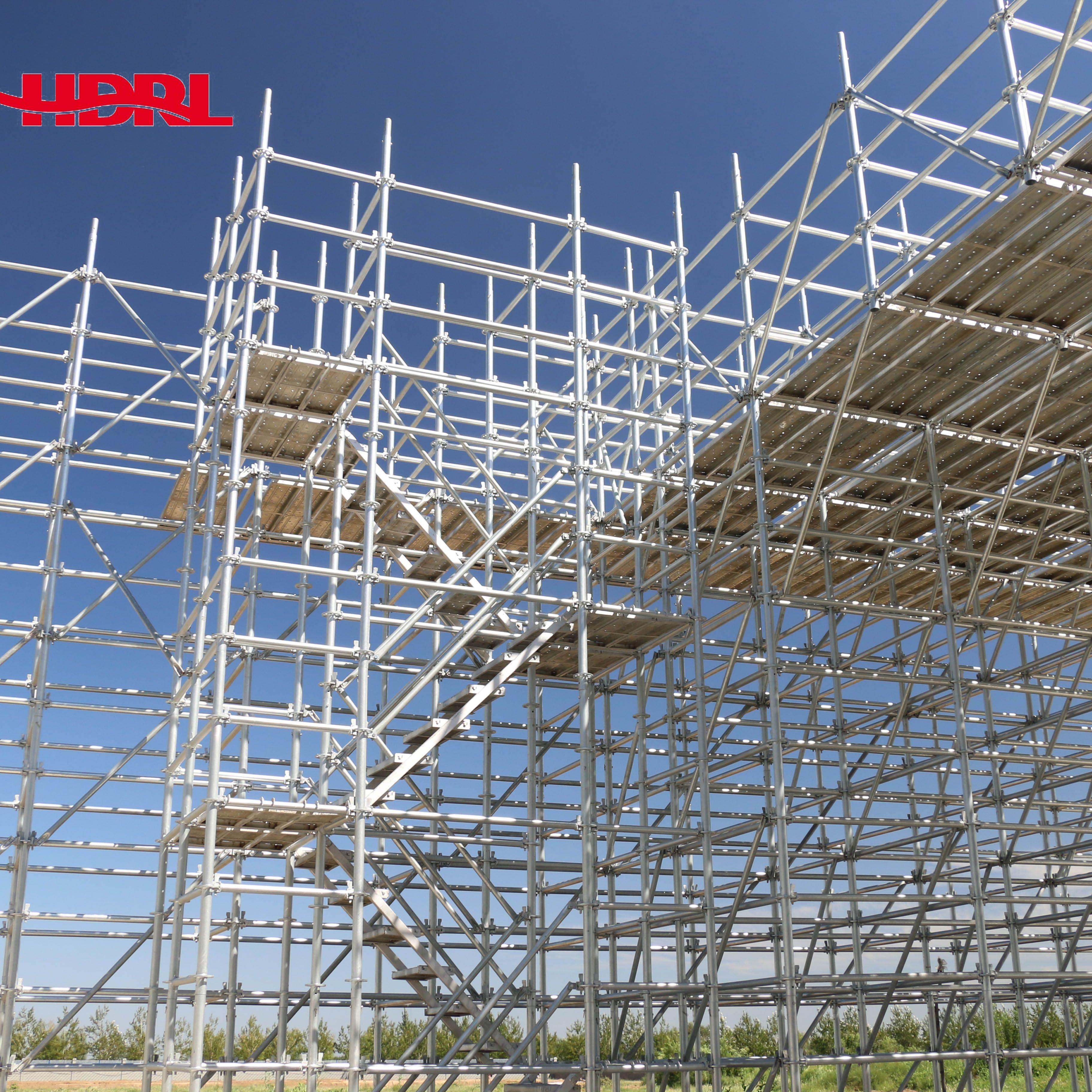 Heavy Duty Layher Allround Steel Ringlcok Scaffolding for Building/Bridge/Tunnel Construction