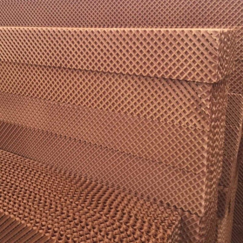 Evaporative Cooling Pad Honey Comb Cooling Pad for Ventilation and Evaporative Cooling System