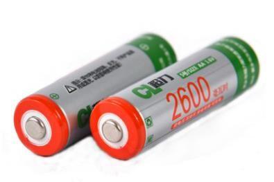 Chaoli Rechargeable Battery AA 2600mAh NiZN 1.6V