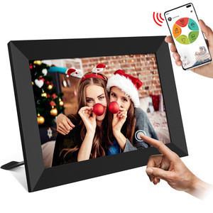 10.1 Inch 16GB WiFi Digital Picture Frame 1280x800 HD Digital Photo Frame Auto Rotate Add Photos/Videos via APP