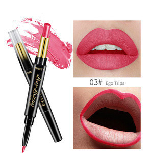 2020 new lip liner lipstick  Lipgloss and Lip Liner 2 in 1  lip liner